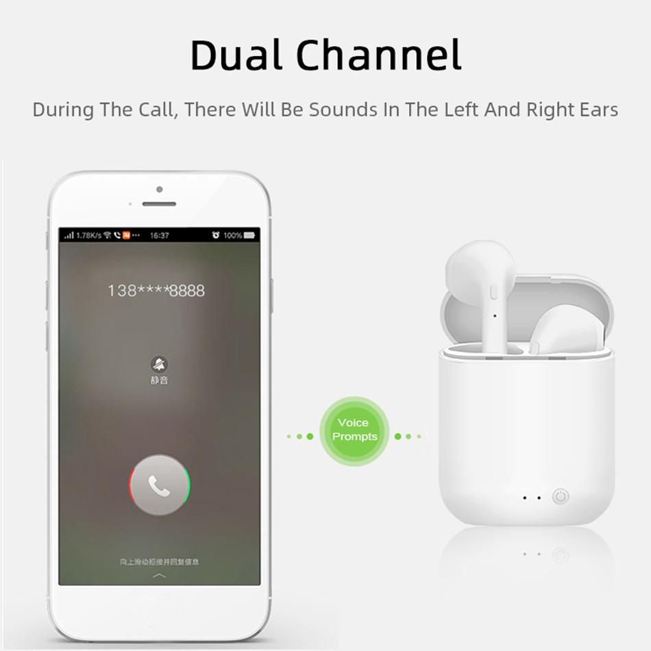 Mini-2 TWS Wireless Earphones Bluetooth 5.0 Earphone TWS Matte Macaron Earbuds With Mic Charging Box Headset Wireless Headphones 4