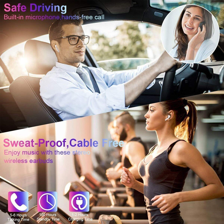 i7s TWS Wireless Earpiece Bluetooth 5.0 Earphones sport Earbuds Headset With Mic For smart Phone Xiaomi Samsung Huawei LG 14