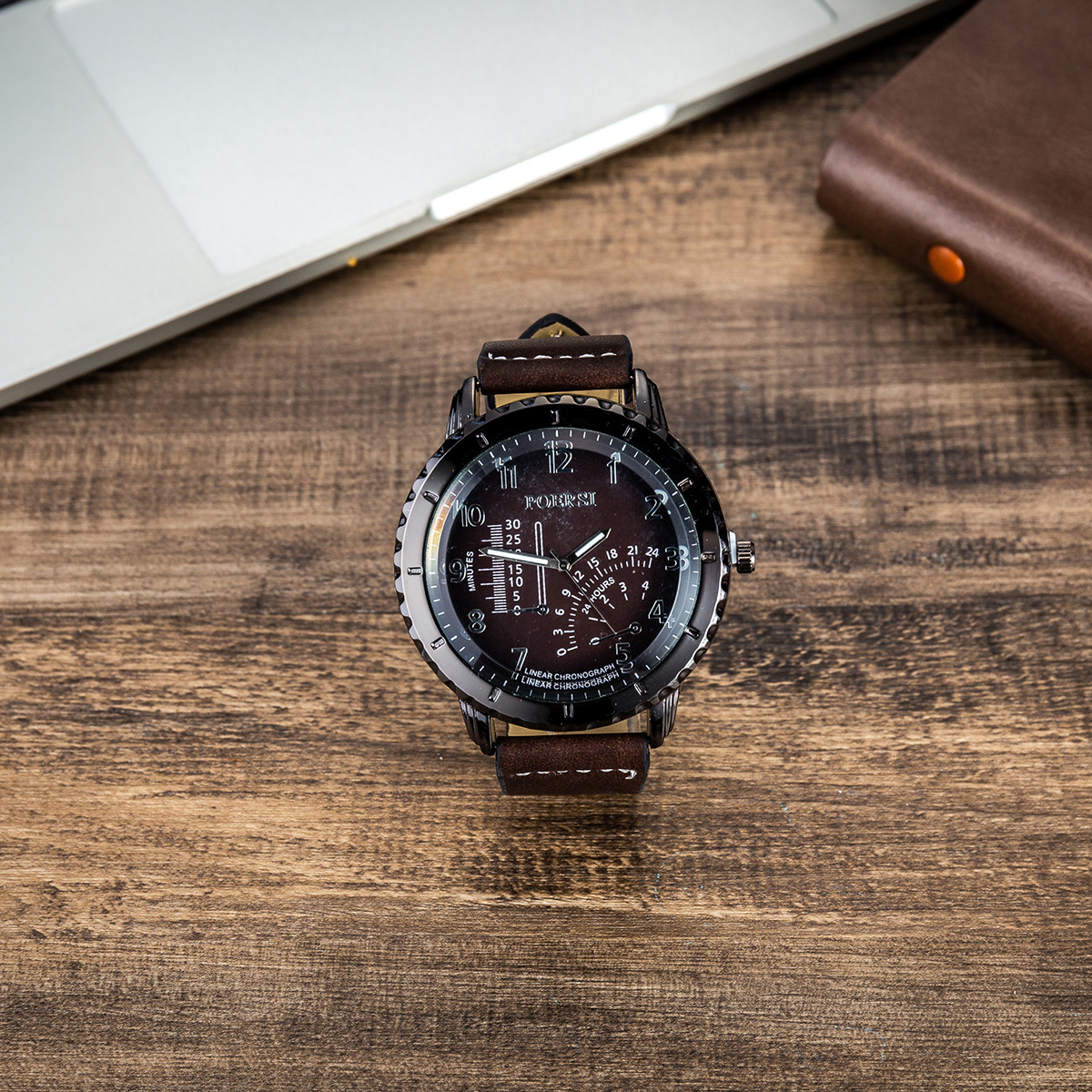 Watches for men rolex_watch mens gifts 6pcs/set boutique gift set glasses + belt + wallet + key chain + watch + pen Alloy 10