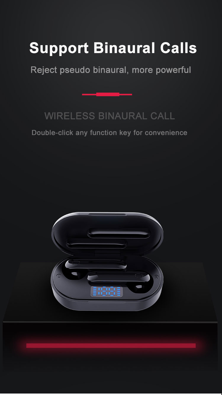 P25 Bluetooth 5.0 Headphones Wireless Earphones 6D Stereo TWS Earphone PK Freebuds Touch Control Headsets LED Display For HUAWEI 4