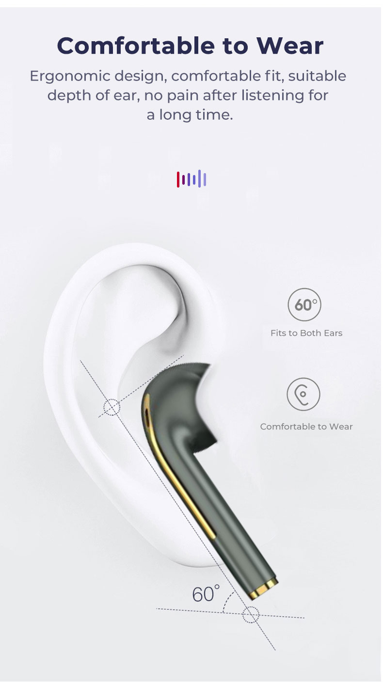 J18 TWS Bluetooth 5.0 Earphone Wireless Headphone 1:1 PK Air 2 with Pop-up Window HD Call HIFI Earpiece For Huawei Xiaomi IPhone 9
