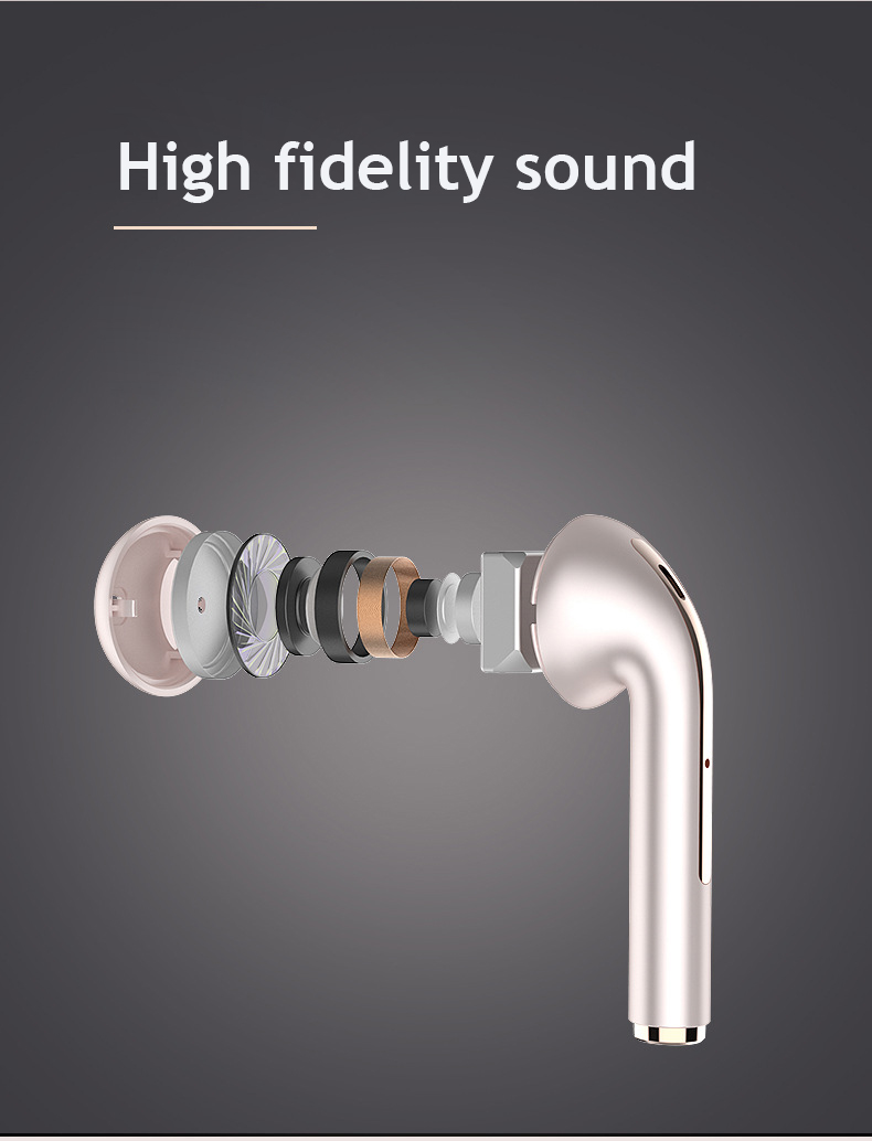 J18 TWS Bluetooth 5.0 Earphone Wireless Headphone 1:1 PK Air 2 with Pop-up Window HD Call HIFI Earpiece For Huawei Xiaomi IPhone 6