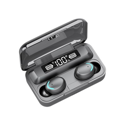 F9-5 TWS Wireless Bluetooth Earphone 5.0 Touch Earphones 9D Stereo Sport Music Waterproof LED Display Airbuds Headset With Mic