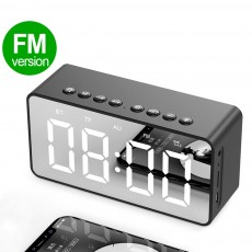 Bluetooth Speaker Column Portable Wireless Speakers Bass Stereo Subwoofer With Handsfree TF Card AUX MP3 Player Alarm Clock