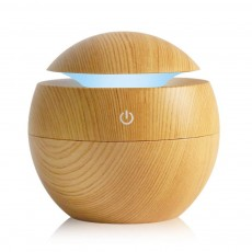 USB Aroma Diffuser Ultrasonic Cool Mist Humidifier Air Purifier 7 Color Change LED Night light for Office Home