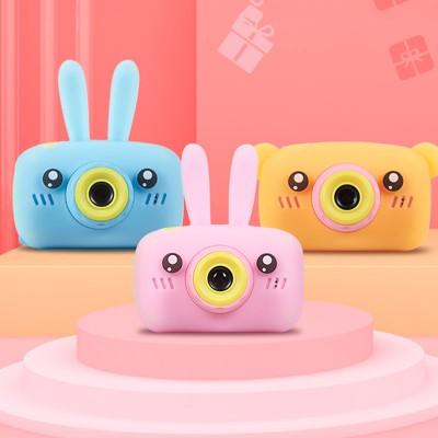 Child camera HD digital camera 2 inch cute cartoon Camera toys children birthday gift 1600w child toys Camera