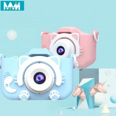 Children's camera toy cute camera rechargeable digital camera mini screen baby toy educational toys outdoor baby