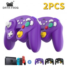 DataFrog Wireless Bluetooth Controller For Nintendo Switch/Switch Pro/PS3/PC/TV Box/Android Phone Controller Vibration