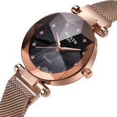 Sparkling Luxury Women Watches Ladies Magnetic Band Clock Fashion Diamond Gypsophila Female Quartz Wristwatch Relogio Feminino