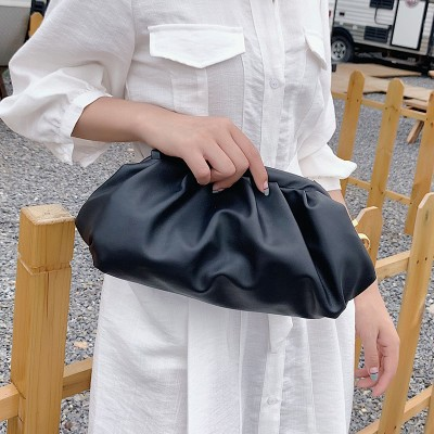 Solid Color Elegant Crossbody Bags For Women 2020 Small Clutch Female Party Handbags and Purses Lady Shoulder Simple Bag