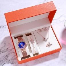 Watch women luxury watch women wrist watches for women gifts for women women watches luxury Simple five-piece watch set 3Bar