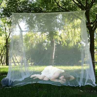 200x200x180cm Travel Camping Mosquito Net Repellent Tent Insect Reject 4 Corner Post Canopy Bed Curtain Bed Tent Hanging Bed