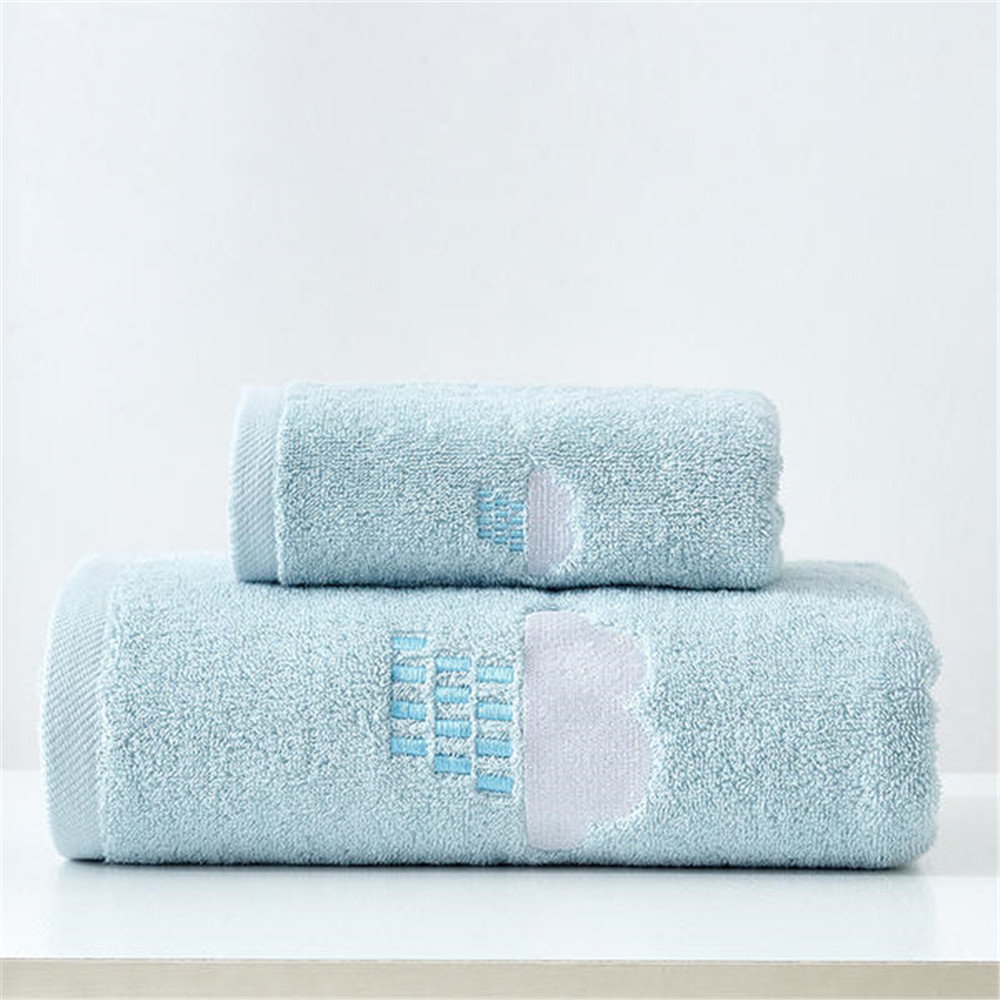 100% Cotton Towels Set Home Bath Towels for Adults Face Towel Thick Absorbent Luxury Bathroom Towels  5