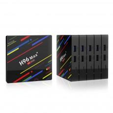Newest H96 Max Plus tv box 4GB DDR3 32GB 64GB eMMC RK3328 android 8.1 set top box H96 max plus tv box