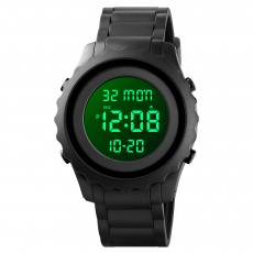 Digital single display student camouflage electronic watch multi function waterproof hot outdoor sports watch