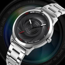 Creative student wormhole concept vortex watch optical phantom steel band Korean fashion quartz watch