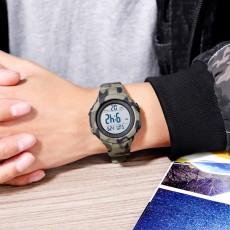 Children's camouflage watch outdoor fashion waterproof multifunctional electronic watch