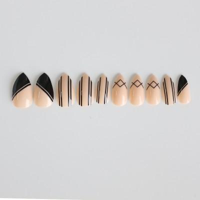 Fashion Nails Press On Girls Finger Beauty False Nail