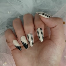 Fashion Nails Press On Girls Finger Beauty False Nail