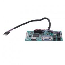 30 Pins Hdmi Vga Input Controller Board Kit Lcd Edp Driver Board For 1080P B156Han01.1 Lp156Wf4 Raspberry Pi 3 Laptop Lcd Scre