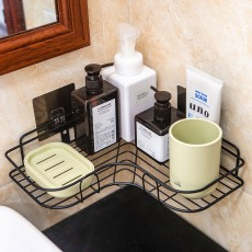 Bathroom racks, no perforation, no corner marks, household bathroom toiletries, kitchen and bedroom multifunctional racks
