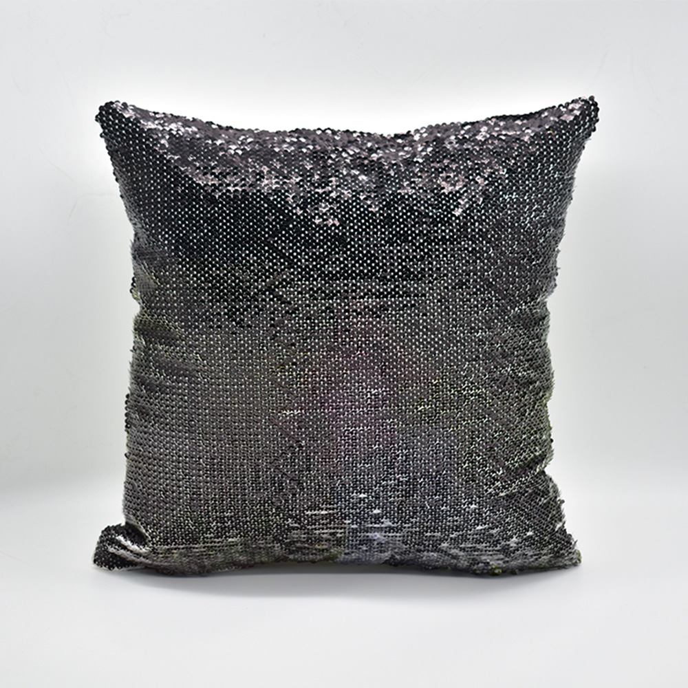 Sequin Magic Pillow Creative Flash Home Gift Support customized pictures, 16 inches, without pillow core 2