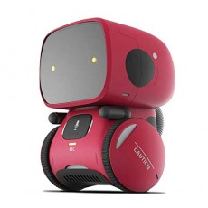 Sunda Robot Toy for Kids, Talking Interactive Voice Controlled Touch Sensor Birthday Gifts for Boys Girls can Singing, Dancing, Repeating