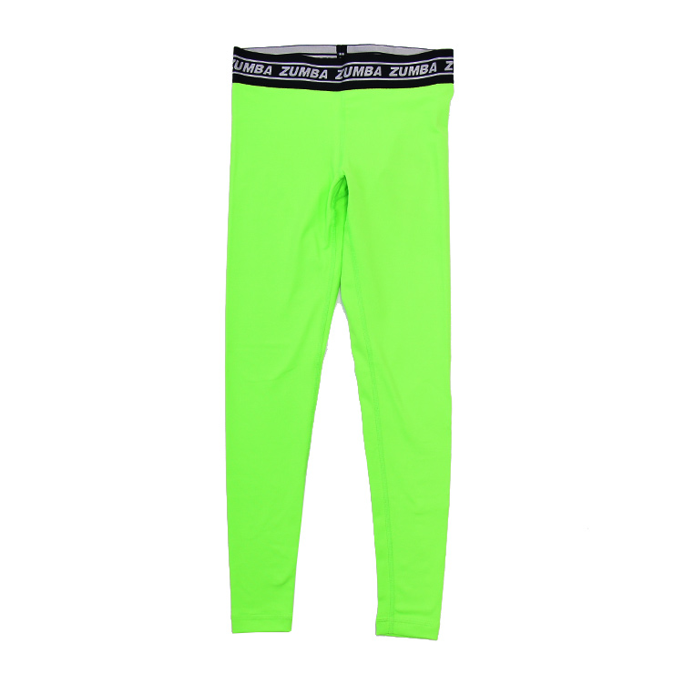 Women dancing wear zumbafitness clothes Zumba glow ankle leggings z1b01055 0