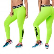 Women dancing wear zumbafitness clothes Zumba glow ankle leggings z1b01055