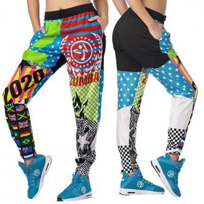 Women dancing wear zumbafitness clothes Zumba glow ankle  z1b00992