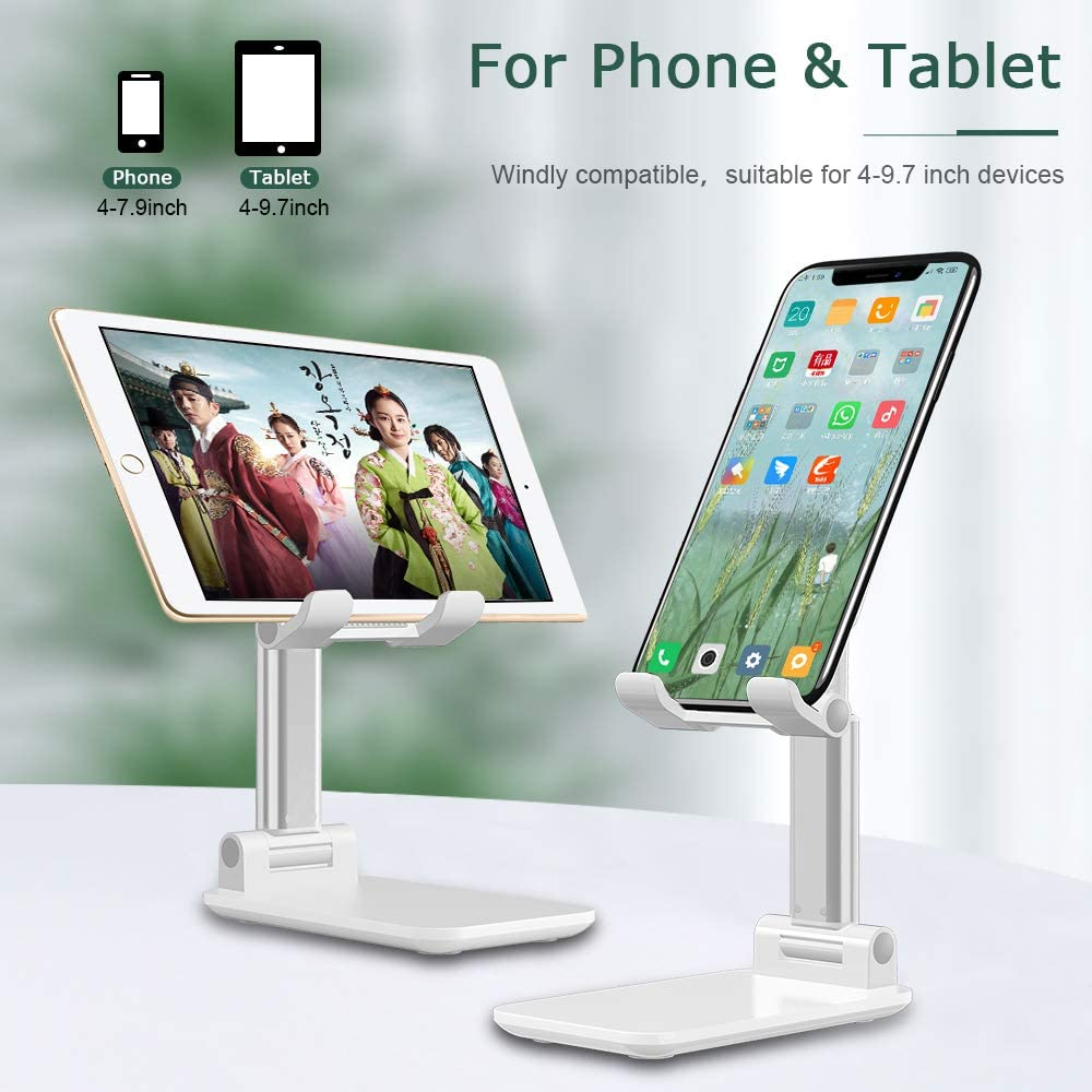 Universal Angle Height Adjustable Tablet Phone Holder Desk For Cell Phone/iPhone/Laptop Table Stand Foldable Desk Mobile Phone Holder Stand 1
