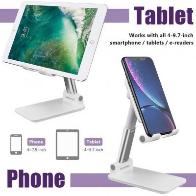 New popular Adjustable Cell Phone Holder,Foldable tablet stand mobile phone mount for desk