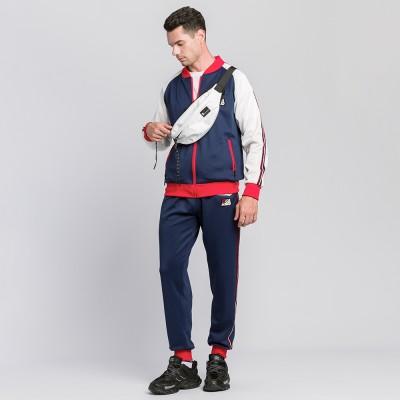 Chu_ce  2020  Men's Tracksuit Jogging Suits Casual Running Sweatsuits Set