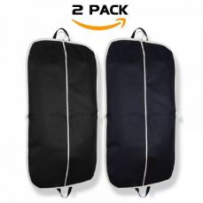 Breathable Suit Garment Bag With Pockets And Carry Handle For Travel, 43 Inch