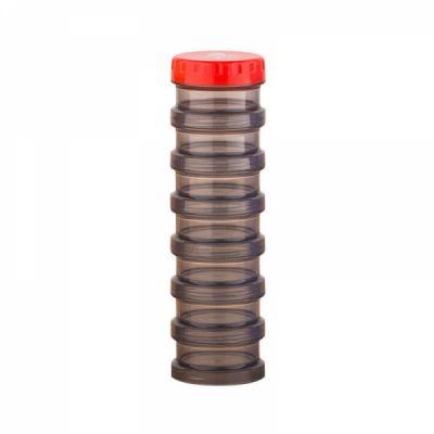 Small Pill Box-7 Compartments Medicine Organizer Portable for Pocket Purse Travel