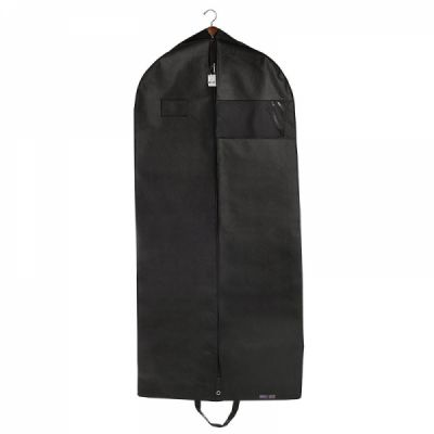 Breathable Business Garment Bag Suit Covers Carrier Bag with Handles and Zipper for Suits, Dresses,Tuxedos
