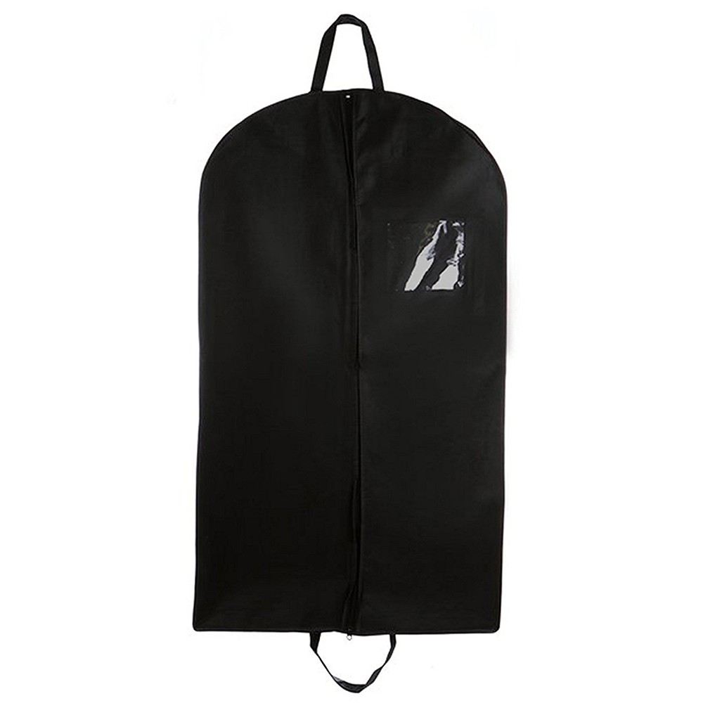 Foldover Breathable Garment Bag with Handles for Travel