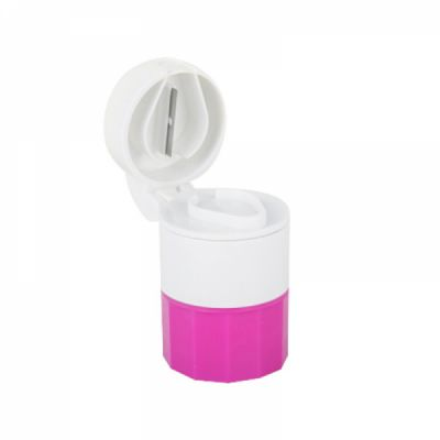 3 IN 1 Multi-Function Tablet Cutter Medication Crusher with Small Pill Box For Daily or Travel Use