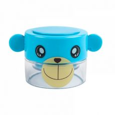 Cartoon Tablet Crusher for Kids, Pill Powder Grinder with compartments for Storing 1 Day Dose