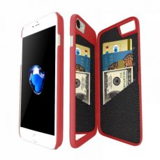 Mirror Wallet Case for iPhone 7/iPhone 8  4.7 Inches, iPhone 7/iPhone 8 Protective Hard Cover Case with Card Slot and Kickstand feature for Women