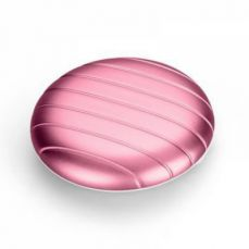 Elegant Mini Pill Box for Pocket or Purse, Luxurious Round Metal Pill Box for Daily Use