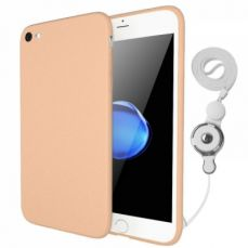 Ultra Slim Soft Plastic iPhone 7 Cover Case, iPhone 7 Case with Finger Ring Holder Lanyard
