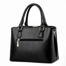 Women's Fashion PU Leather Top Handle Handbag, Women's Satchel Tote with Removable Strap