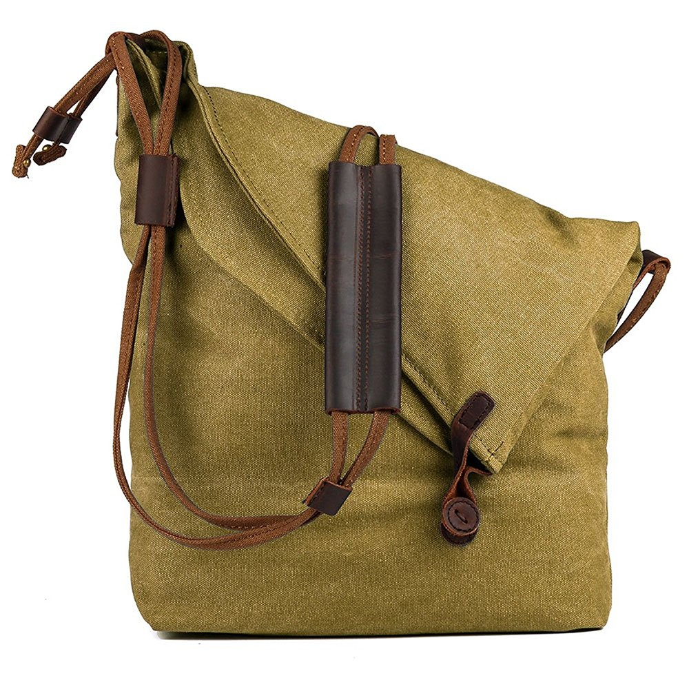 Unisex Canvas Cross-body Bag, Casual Shoulder Bag, Messenger Bag