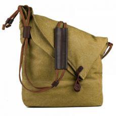 Unisex Canvas Cross-body Bag, Casual Shoulder Bag, Messenger Bag