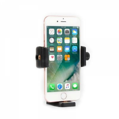 Universal Cell Phone Tripod Mount Adapter Holder, Adjustable phone Holder Tripod Adapter for All Smartphones