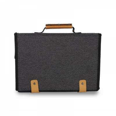 Large Electronic Organizer Travel Case, Portable Electronics Accessories Storage Bag for Travel Use (Grey)