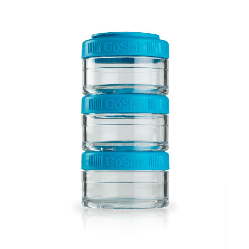 Twist-Lock Formula Dispenser and Snack Containers, Stackable Storage Jars for protein, powders, supplements