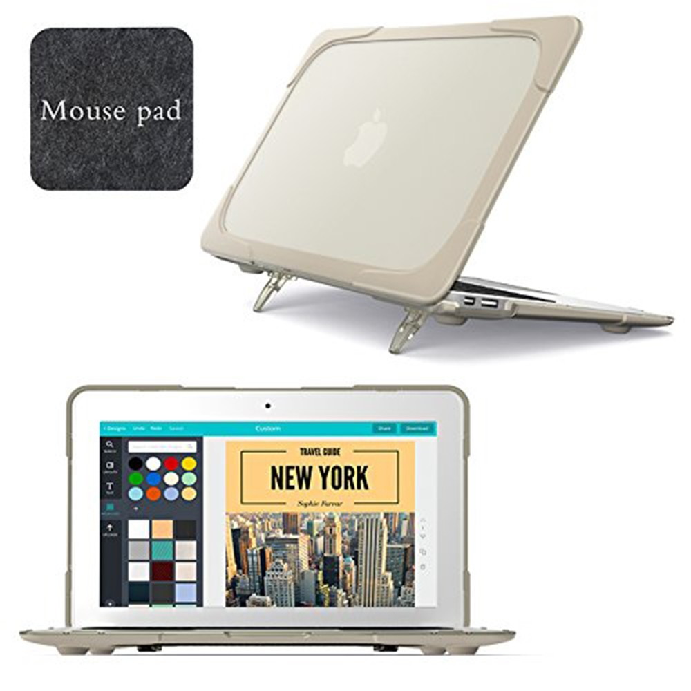 Macbook Air 11 Case, Hard Shell Protective Cover Case for Apple Macbook Air 11 Inch (Model: A1465/A1370)