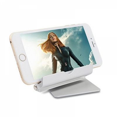 Multi-Angle Aluminum Holder stand, 360 Rotation Fold-up Stand Holder for 3.5-13 inch Tablets, E-readers and Smartphones